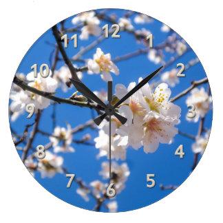 Tree of Flowers wall clock