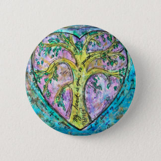 Tree of growth 2 inch round button