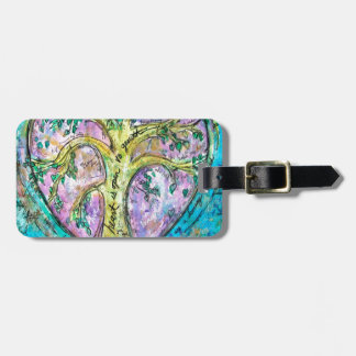 Tree of growth luggage tag
