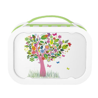 Tree of Happiness Green yubo Lunch Box