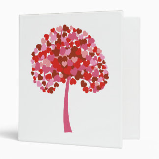 Tree Of Hearts 3 Ring Binders