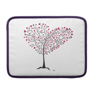 Tree of Hearts MacBook Sleeve