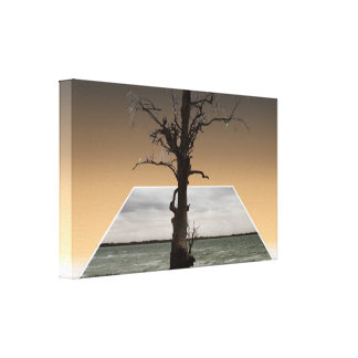 Tree Of Hope Dimensional; Popout Art, Canvas Print