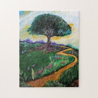 Tree Of Imagination Jigsaw Puzzle