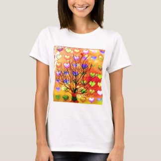 Tree of joy with multiple hearth T-Shirt