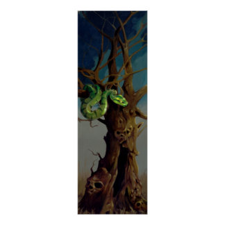 Tree of Knowledge ART PRINT - Diptych Left Side