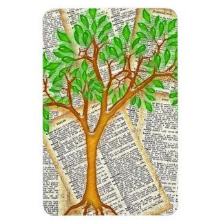 TREE OF KNOWLEDGE RECTANGULAR PHOTO MAGNET