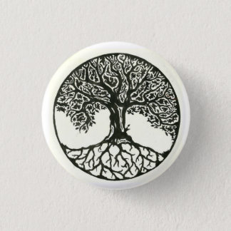 Tree Of Life 1 Inch Round Button
