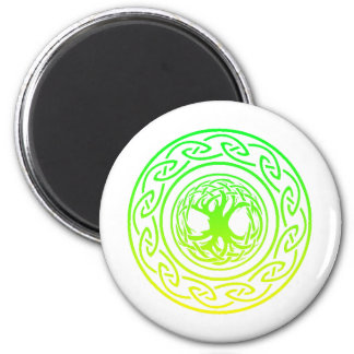 tree of life 2 inch round magnet
