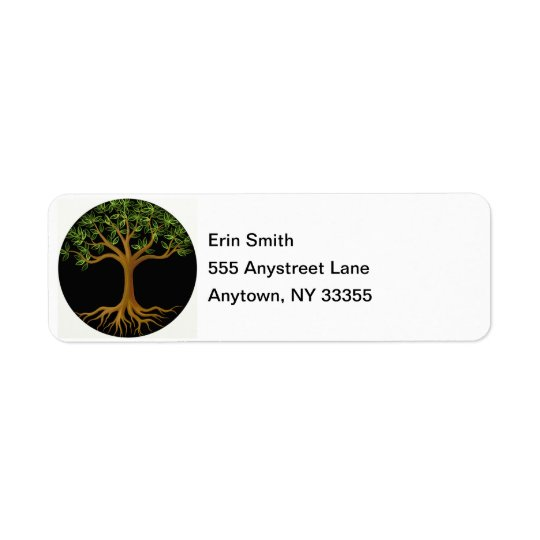 Tree of Life address labels