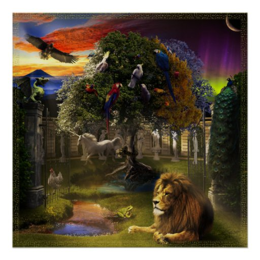 Tree of Life & Ages Poster