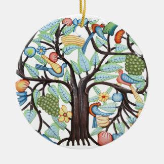 TREE OF LIFE Amulet Ceramic Ornament