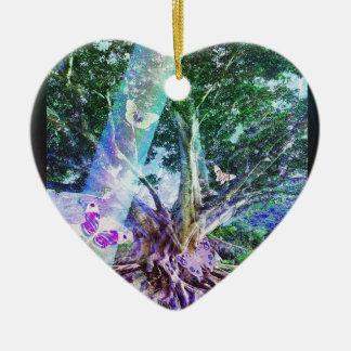 Tree of Life Beauty Ceramic Ornament