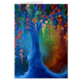 Tree of Life, Blank Greeting card, Card