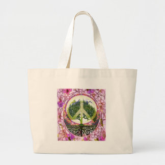 Tree of Life Breath of Life Large Tote Bag