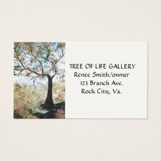 """""""TREE OF LIFE"""" business card"""