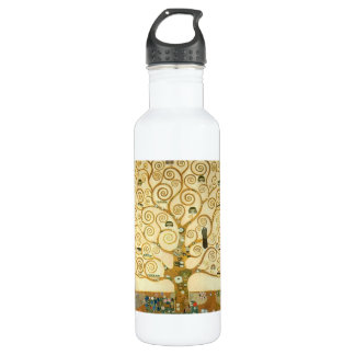 Tree of Life by Gustav Klimt 710 Ml Water Bottle