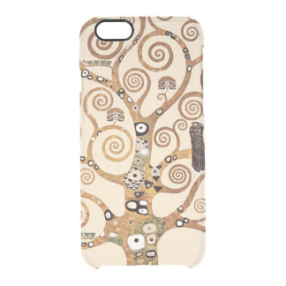 Tree of Life by Gustav Klimt Clear iPhone 6/6S Case