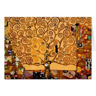 Tree of Life by Gustav Klimt Fine Art Card