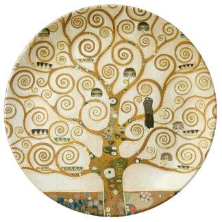 Tree of Life by Gustav Klimt Plate
