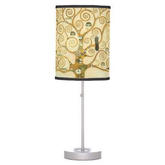 Tree of Life by Gustav Klimt Table Lamp