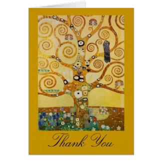 Tree of Life by Klimt Card