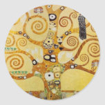 Tree of Life by Klimt Stickers