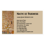 Tree of Life by Klimt, Stylized Art Nouveau Symbol Pack Of Standard Business Cards