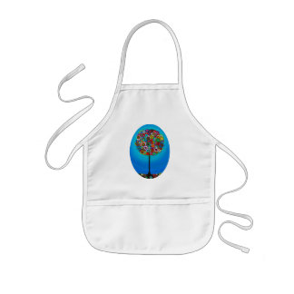 TREE OF LIFE BY PRISARTS KIDS APRON