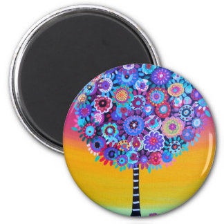 tree of life by prisarts magnet