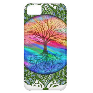 Tree of Life Calming iPhone 5C Cases