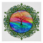 Tree of Life Calming Poster