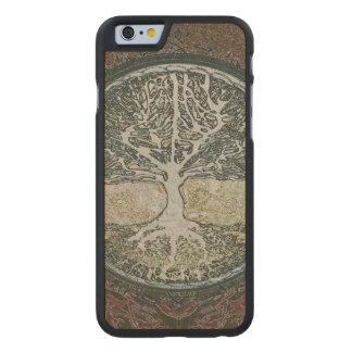 Tree of Life Carved Maple iPhone 6 Case