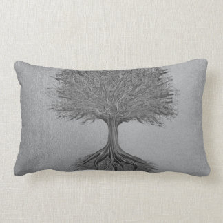 Tree of Life Chrome 2 Lumbar Pillow