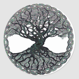 Tree of Life Circle of Life Classic Round Sticker