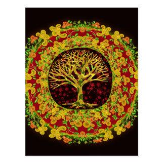 Tree of Life Constant Change Postcard