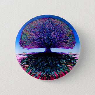 Tree of Life Creative 2 Inch Round Button