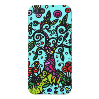 Tree of Life Doodle Cover For iPhone 5/5S