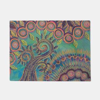 tree of life door mat