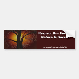TREE OF LIFE Earth Day Gift Series Bumper Stickers