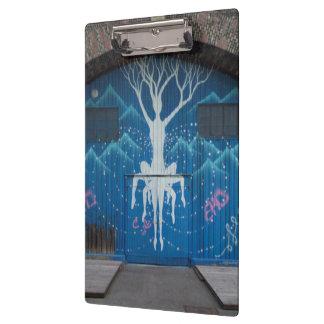 Tree Of Life Graffiti Clipboard