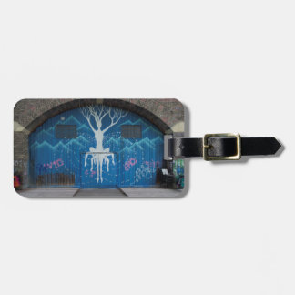 Tree Of Life Graffiti Luggage Tag