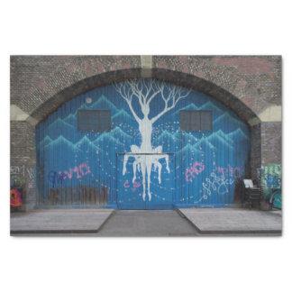 Tree Of Life Graffiti Tissue Paper
