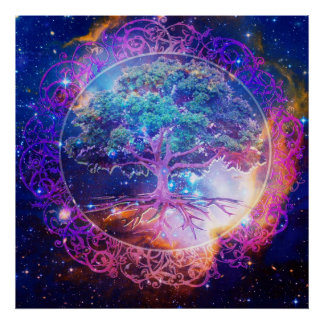 Tree of Life Healing Poster