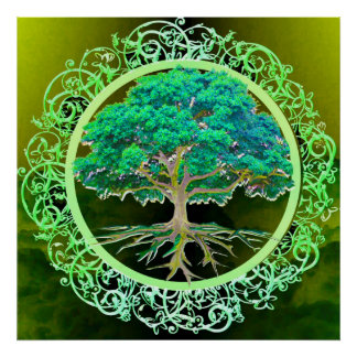 Tree of Life Health Poster