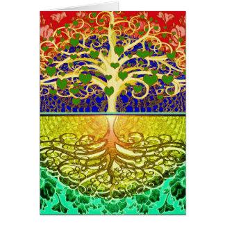 Tree of Life Heart Card