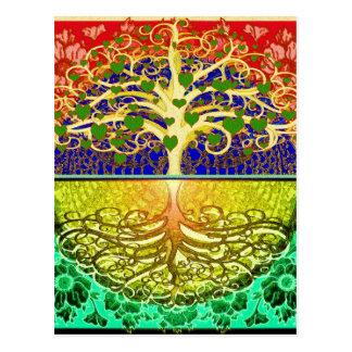 Tree of Life Heart Postcard