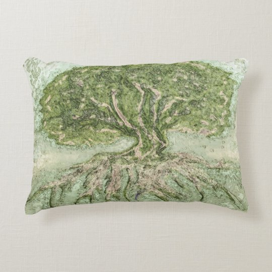 Tree of Life Hope Decorative Pillow