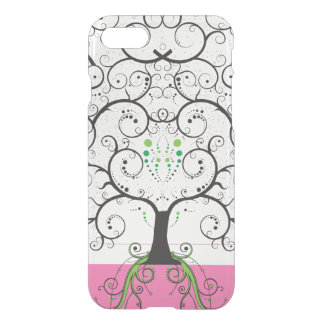 Tree of life illustration iPhone 7 clear case
