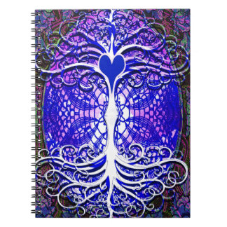 Tree of Life Imagination Spiral Note Book